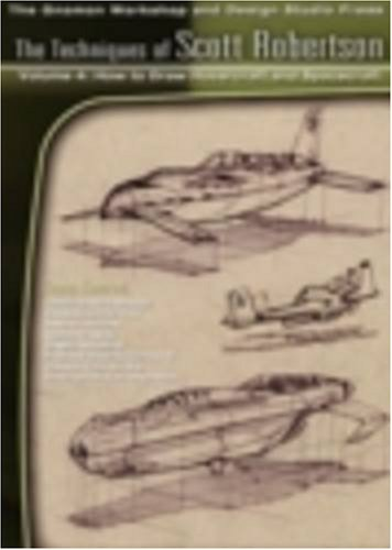 9781930878846: The Techniques of Scott Robertson: No. 4: How to Draw Hovercraft and Spacecraft