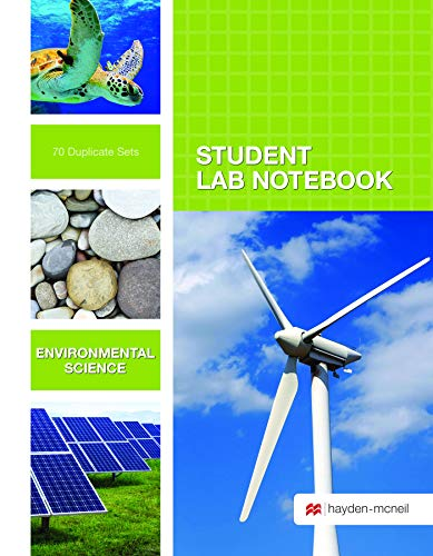 Environmental Science Student Lab Notebook: 70 Carbonless Duplicate Sets: Hayden-McNeil