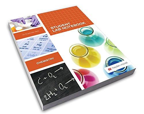 Student Lab Notebook: 50 Carbonless Duplicate: Hayden-McNeil