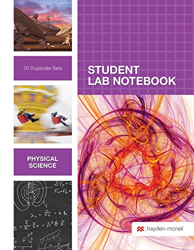 Physical Sciences Student Lab Notebook