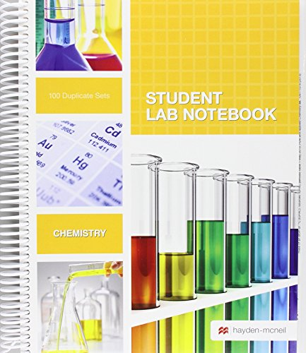 Student Lab Notebook: 100 Spiral Bound duplicate