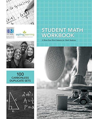 9781930882881: Student Math Workbook