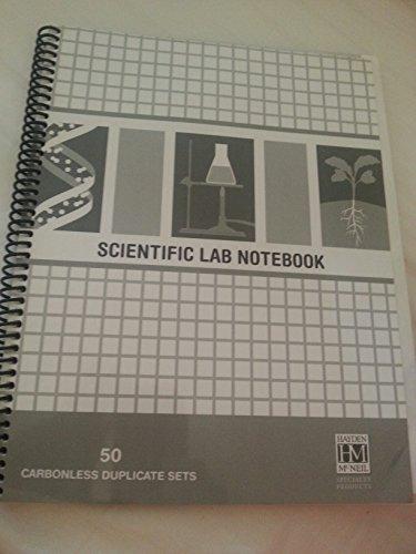 9781930882997: Scientific Lab Notebook (50 Carbonless Duplicate Sets)