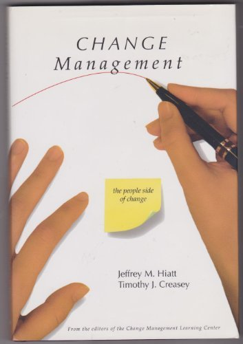 9781930885196: Change Management: The People Side of Change