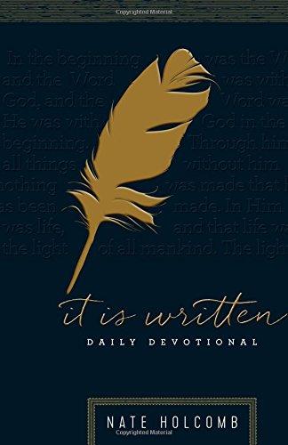 9781930918412: It Is Written: DAILY DEVOTIONAL