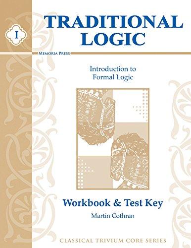 9781930953116: Traditional Logic I, Key