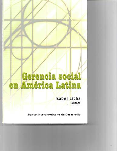 Gerencia social en América Latina: Isabel Licha