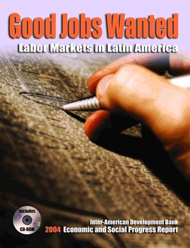 Good Jobs Wanted (Inter-American Development Bank): Development Bank, Professor