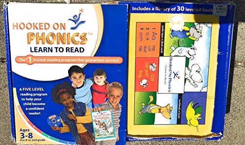 9781931020176: Hooked on Phonics: Learn to Read Pre-K to 2nd Grade (Ages 3-8)