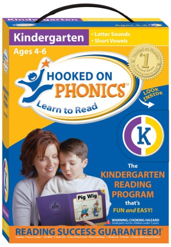 9781931020299: Hooked on Phonics: Learn to Read Kindergarten System