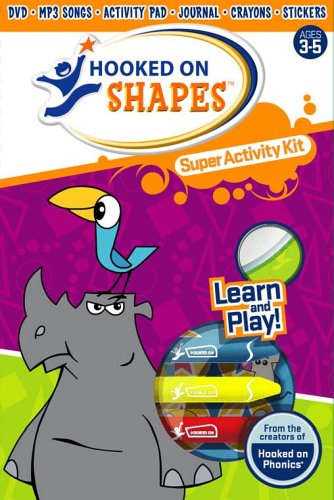 9781931020619: Hooked on Shapes: Super Activity Kit