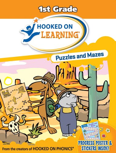 9781931020718: Puzzles and Mazes: 1st Grade (Hooked on Learning)