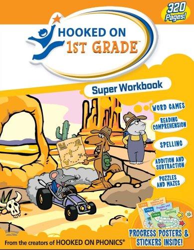 9781931020749: Hooked on 1st Grade Super Workbook