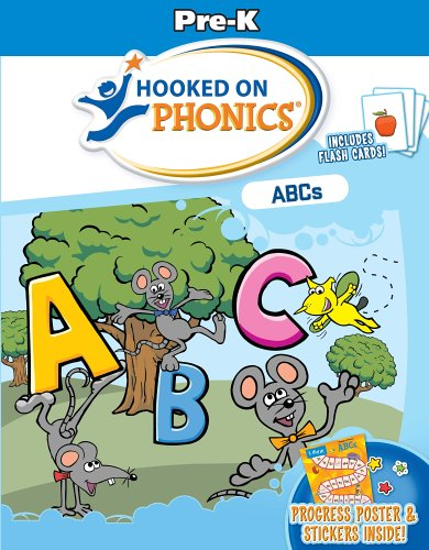 9781931020831: Hooked on Phonics ABCs: Pre-k Workbook With Flashcards