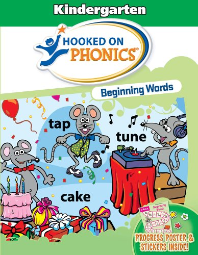 9781931020848: Hooked on Phonics: Beginning Words with Flashcards
