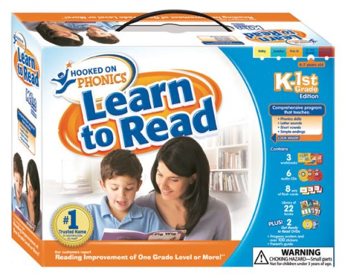 Hooked on Phonics Learn to Read K-1st Grade: Hooked on Phonics