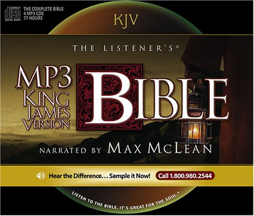 9781931047524: The Listener's KJV MP3 Audio Bible