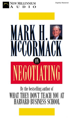 On Negotiating (1931056102) by Mark H. McCormack