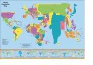9781931057356: World Population Map - 2015