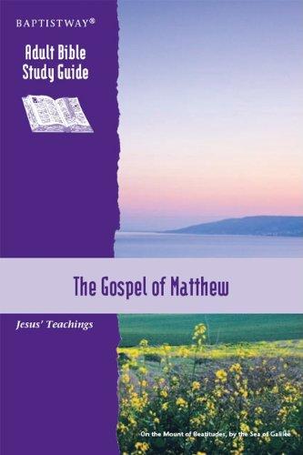 The Gospel of Matthew: Jesus' Teachings (Adult: Tillman, Bill; Hillman,