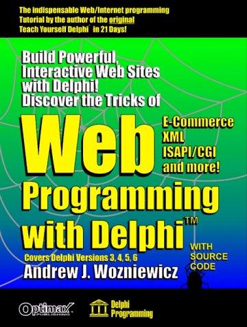 9781931097178: Web Programming with Delphi (Delphi Programming)
