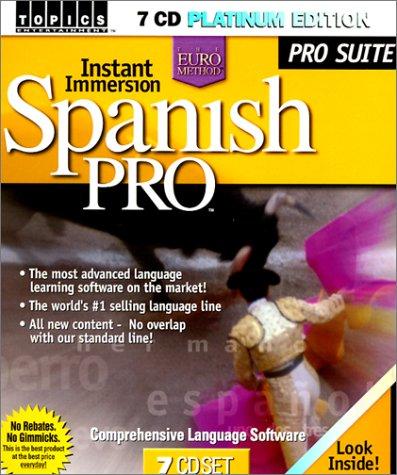 9781931102988: Instant Immersion Spanish (Spanish Edition)