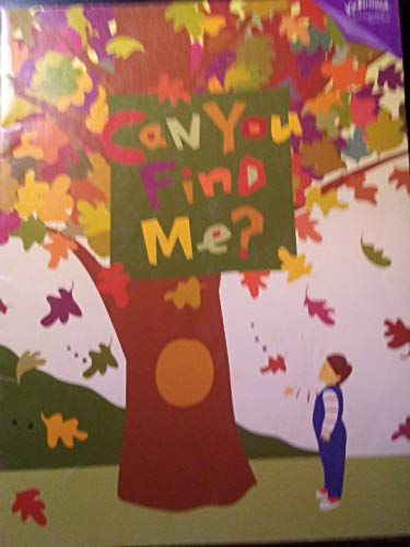 Can You Find Me? (Kindermusik -a good beginning never ends.): Frye, Susan James