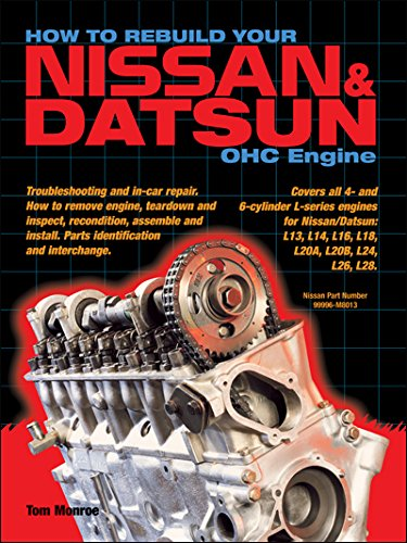 How to Rebuild Your Nissan & Datsun Ohc Engine: Monroe, Tom