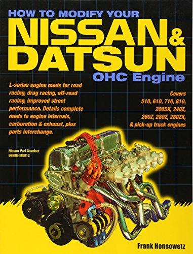 How to Modify Your Nissan & Datsun OHC Engine: Honsowetz, Frank