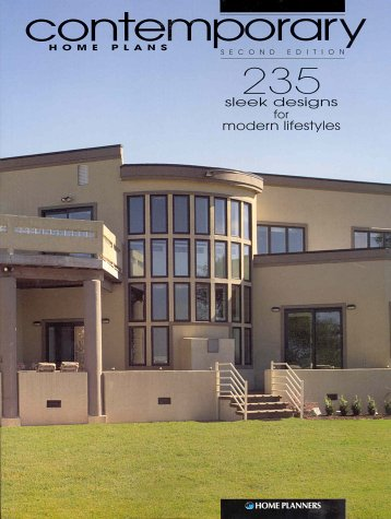 Contemporary home plans 235 sleek designs for modern for Sleek home designs