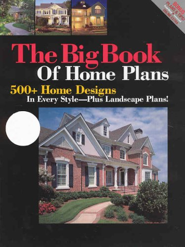 9781931131360: Big Book of Home Plans: 500+ Home Designs in Every Style