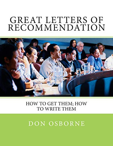 9781931133043: Great Letters of Recommendation