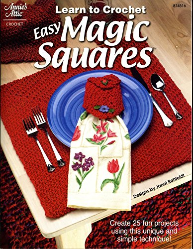 9781931171335: Learn to Crochet Easy Magic Squares