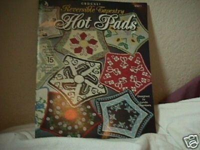 Crochet Reversible Tapestry Hot Pads