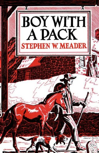 BOY WITH A PACK (1ST THUS IN DJ- HARDBACK)
