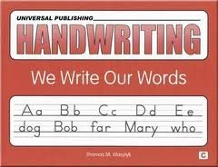 9781931181020: Handwriting: We Write Our Words Book C