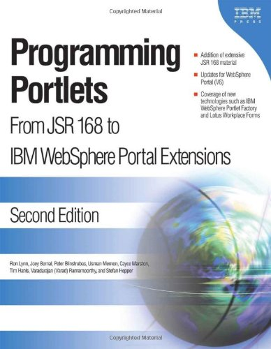 9781931182287: Programming Portlets: From JSR 168 to IBM WebSphere Portal Extensions