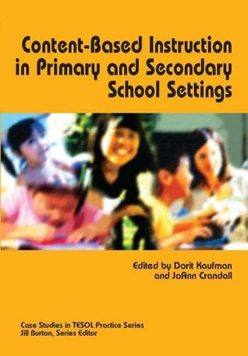 Content-Based Instruction in Primary and Secondary School: Kaufman; Jo Ann