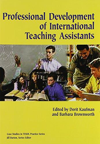 Professional Development of International Teaching Assistant (Case: Dorit Kaufman, Barbara