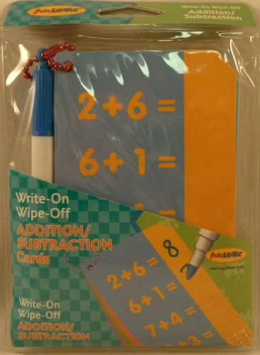 Addition/Subtraction Cards: Write-On Wipe-Off Cards