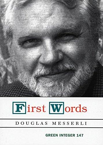 9781931243414: First Words (Green Integer)