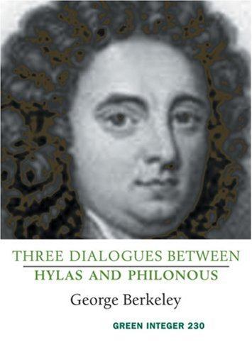 9781931243926: Three Dialogues Between Hylas and Philonous (Green Integer)