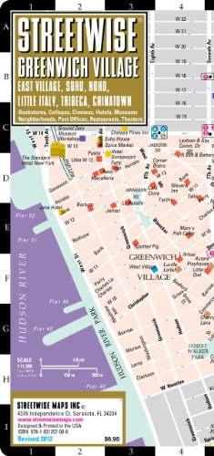 9781931257008 Streetwise Greenwich Village Map Laminated City