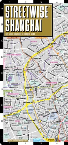 9781931257336: Streetwise Shanghai Map - Laminated City Center Street Map of Shanghai, China