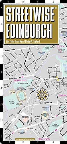 9781931257459: Streetwise Edinburgh Map - Laminated City Center Street Map of Edinburgh, Scotland (Streetwise (Streetwise Maps))