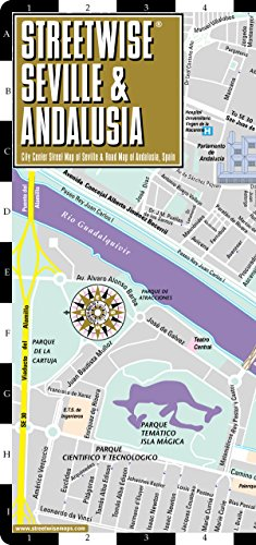 9781931257473: Streetwise Seville Map - Laminated City Center Street Map of Seville, Spain (Streetwise (Streetwise Maps))