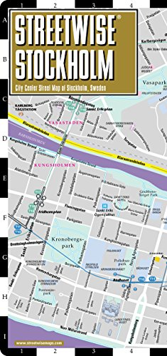 9781931257619: Streetwise Stockholm Map - City Center Street Map of Stockholm, Sweden (Streetwise (Streetwise Maps))