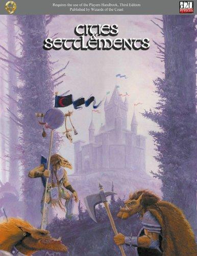 9781931275248: Cities & Settlements (d20)