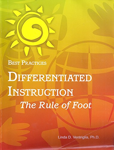 9781931277044: Best Practices Differentiated Instruction; The Rule of Foot