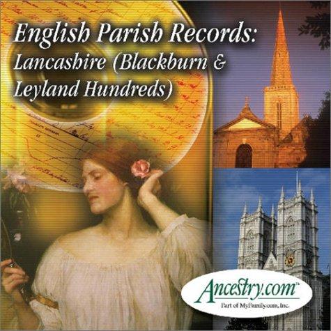 9781931279819: English Parish Records: Lancashire (Blackburn & Leland Hundreds)